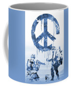Banksy Soldiers-blue Coffee Mug