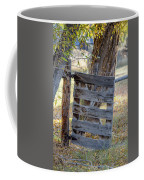 Bannack Gate At Sunrise Coffee Mug