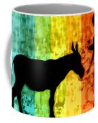 Bansky In Colors Coffee Mug