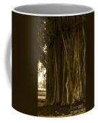 Banyan Surfer - Triptych  Part 1 Of 3 Coffee Mug