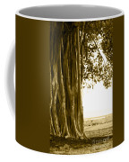 Banyan Surfer - Triptych  Part 2 Of 3 Coffee Mug