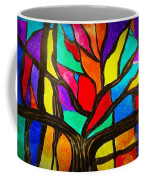 Banyan Tree Abstract Coffee Mug