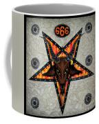 Baphomet - Satanic Pentagram - 666 Coffee Mug