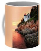 Bar Harbor Light House Coffee Mug