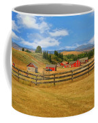 Bar U Ranch Alberta, Canada Coffee Mug by Ola Allen