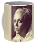 Barbara Steele, Vintage Actress Coffee Mug