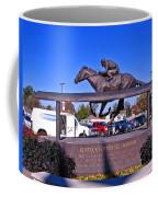 Barbaro Statue At Churchill Downs Coffee Mug