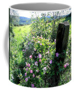 Barbed Wire And Roses Coffee Mug
