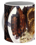 Barbeque Ribs Dinner At Sonny Bryans Coffee Mug