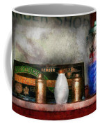 Barber - Things You Stare At  Coffee Mug by Mike Savad
