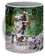 Barber Statue Coffee Mug