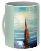 Barca Al Chiar Di Luna Coffee Mug