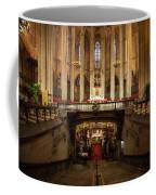 Barcelona Cathedral High Altar And St Eulalia Crypt Coffee Mug