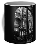 Barcelona Cathedral Interior Bw Coffee Mug