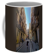 Barcelona Street Scene Coffee Mug