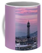 Barcelona Sunset Coffee Mug