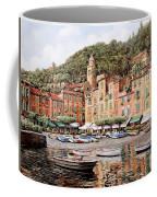 barche a Portofino Coffee Mug