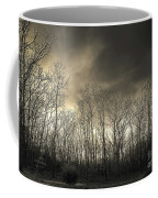 Bare Trees In A Winter Sunset Coffee Mug