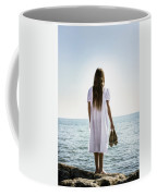 Barefoot At The Sea Coffee Mug