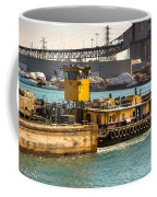 Barge Movement With The Morgan Coffee Mug