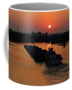Barge On The Ohio. Coffee Mug