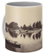 Barges At Oxford Coffee Mug