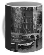 Barges By The Bridge Coffee Mug