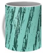 Bark Texture Turquoise Coffee Mug