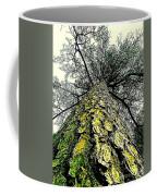 Bark Up The Tall Pine Tree Abstract In Felicina  Louisiana Coffee Mug