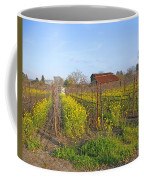 Barn Among The Wild Mustard Coffee Mug