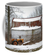 Barn And Tractor Coffee Mug