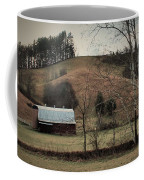Barn At The Bottom Of The Hill Coffee Mug