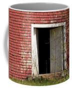 Barn Door And Cedar Coffee Mug