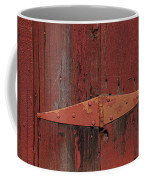 Barn Hinge Coffee Mug by Garry Gay