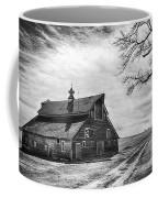 Barn In Black And White Coffee Mug