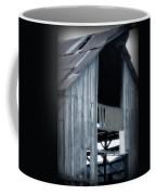 Barn In Blue Coffee Mug