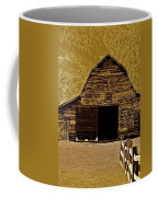 Barn In Sepia Coffee Mug