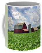 Barn In The Corn Coffee Mug