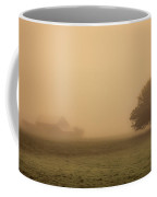 Barn In The Mist Coffee Mug