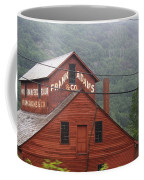 Barn In Vermont Along Amtrack Coffee Mug