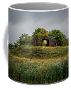 Barn On Hill Coffee Mug