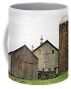 Barn On The Georgia Shore Road Coffee Mug