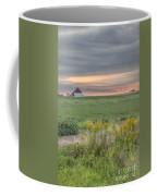 Barn On The Horizon  Coffee Mug
