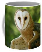 Barn Owl-6553 Coffee Mug