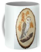 Barn Owl - Enduring Insight Coffee Mug