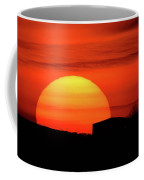 Barn Sunset Coffee Mug