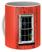 Barn Window Closeup At Old World Wisconsin Coffee Mug