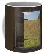 Barn Window View Coffee Mug