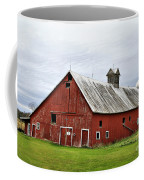 Barn With A Cross Coffee Mug