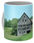 Barn With Chickens In Window Coffee Mug